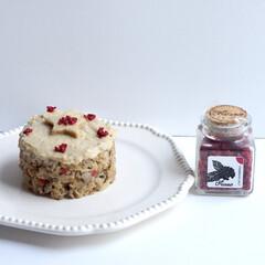 フルッソ/Flusso/ファイナリスト/調味料選手権2020/フランボワーズソルト/お食事系ケーキシリーズ/... 【オートミールリゾットケーキ♡】 今日は…