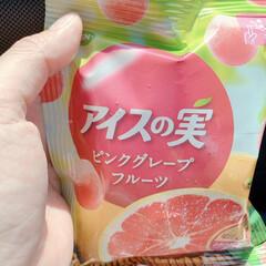 期間限定/新発売/ピンクグレープフルーツ/手軽に美味しい/コンビニアイス/コンビニ/... 【期間限定♡アイスの実】 今日のアイスは…