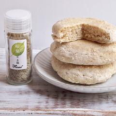 桜葉のお塩/卵乳成分不使用/Flusso/ノンオイル/オーツ麦パンケーキ/ヴィーガン女子 【手軽に手に入る素材で作ってみました♡】…