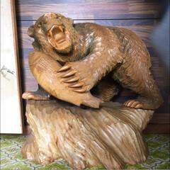 木彫りの熊/インテリア/雑貨/住まい/掃除 古い親戚のお家を壊すことになり、宝探しへ…