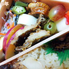 松茸/弁当 京都・神崎屋さんの松茸弁当です♪ htt…