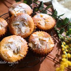 マフィン/ゆるりと/リミアの冬暮らし/雑貨/暮らし おイモが美味しい季節ですね 焼き芋も美味…(1枚目)