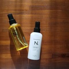 N. シアオイル(スキンケアオイル)を使ったクチコミ「ヘアケアは「N. エヌドット」を愛用して…」