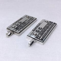 手作りシルバーアクセサリー/シルバーアクセサリー/ハンドメイド/個性的/ペンダント/ユニーク/... TR-606のペンダント(シンセサのアク…