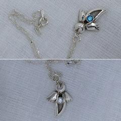 クリオネ/シルバー/シルバーアクセサリー/ネックレス/カスタム可能/ハンドメイド/... 流氷の天使、氷の妖精の愛称で有名なクリオ…