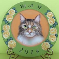 猫/肖像画 猫のメイちゃん