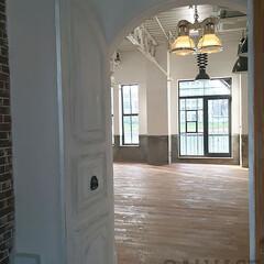 スタジオ施工/内装施工/オーダードア/オーダー窓/アイアン窓 スタジオ施工例2 内装施工 ドア製作 ア…