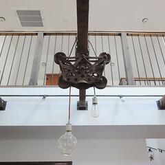 ビームハンガー/オリジナル照明 住宅(新築)施工例1