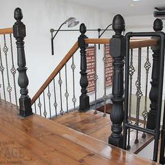 階段手摺り/スタジオ施工/内装施工 スタジオ施工例3 階段手摺り