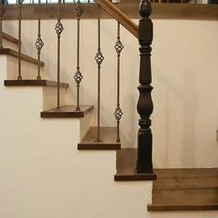 スタジオ施工/内装施工/階段手摺り スタジオ施工例3 階段手摺り