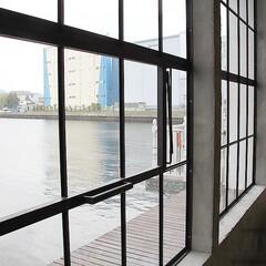 スタジオ施工/アイアン窓 スタジオ施工例4 アイアン窓