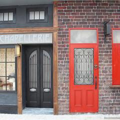 オーダードア/アイアン面格子/スタジオ施工/外装施工 スタジオ施工例4 外装施工 ドア