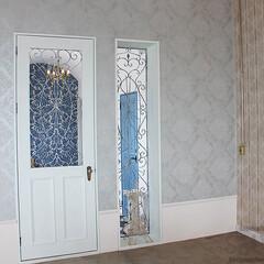オーダードア/アイアン面格子/内装施工/スタジオ施工 スタジオ施工例4 内装施工 ドア アイア…