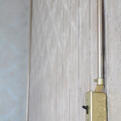 スタジオ施工/内装施工/露出配線/スイッチボックス スタジオ施工例4 露出配線 スイッチボッ…