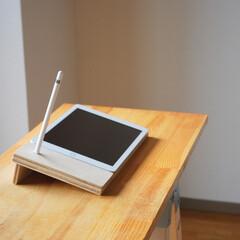 DIY/Apple/タブレット/iPad/イラストレーター/イラスト 絵描き専用iPad台DIY♪
