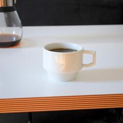 コーヒーマグ/コーヒー/波佐見焼/ブロックマグ 毎日のコーヒータイムのお供、波佐見焼のブ…(1枚目)