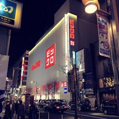 ユニクロ/新宿/新宿三丁目/LIMIAおでかけ部 街の風景。