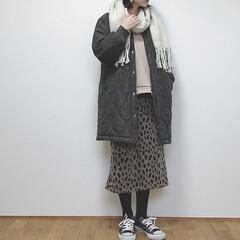 マフラー/カジュアルコーデ/冬コーデ/冬/ファッション 防寒コーデ❄️ 外に出る時は必ずマフラー…