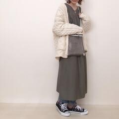 beautifulpeople/神戸レタス/ニットカーディガン/レイヤード/ワンピースコーデ/ファッション お気に入りコーデ♡ 神戸レタスのワンピは…