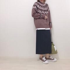 ニット/フェアアイルセーター/GU/ファッション GUのフェアアイルセーター♡ 去年は完売…(1枚目)