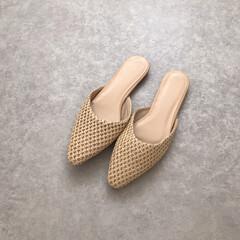 靴/ファッション/arholiday/ミュール/zozo購入品/ZOZOTOWN zozoで予約してたミュールが届いた~♡…