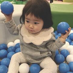 ボールプール/赤ちゃん/1歳/生後12ヶ月/おでかけワンショット 愉快リゾートへ行ってきました♡ キッズス…