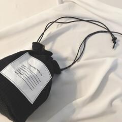 バッグ/リバーシブル/巾着バッグ/ファッション雑貨/雑貨/ファッション/... 新しい巾着バッグが届きました♡ 長財布も…(2枚目)
