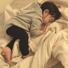 1歳2ヶ月/お昼寝/娘/寝顔 昨日の末っ子ちゃん。 お昼寝中です💤 卒…