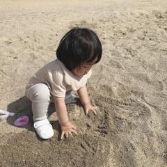 1歳3ヶ月/砂場遊び/公園/LIMIAおでかけ部/おでかけ/おでかけワンショット 今日は家族で少し遠い公園に行ってきました…