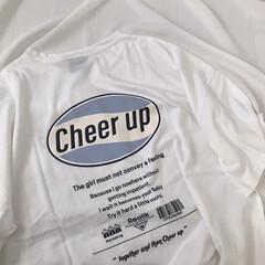 Tシャツ/オーバーサイズT/プチプラ/ファッション/カジュアル/バクプリ/... 大好物のバックプリントT♡ サーフ系?な…