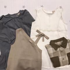 誕生日プレゼント/petit main/キッズコーデ/こども服/ファッション 末っ子ちゃんの誕生日にじじばばから買って…