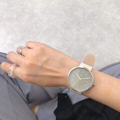 クリアリング/マベン/腕時計/手元倶楽部/手元コーデ/ファッション お気に入りのマベンの時計⌚️ 大きめが可…