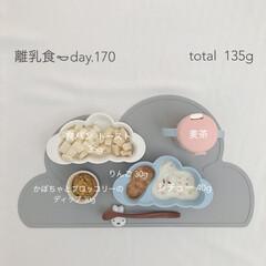 生後11ヶ月/離乳食後期/赤ちゃん/離乳食/おうちごはん/グルメ/... 今日の離乳食。 トーストに初挑戦🍞 トー…