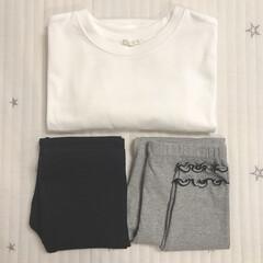 キッズファッション/キッズコーデ/子供服/GU/ファッション 昨日GUで子供服を買いました♡︎ʾʾ 上…