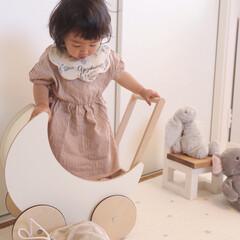スタイ/1歳4ヶ月/子供服/ファッション/わたしのお気に入り 昨日で末っ子ちゃん1歳4ヶ月になりました…
