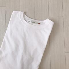 購入品/神戸レタス/白T/Tシャツ/ファッション 神戸レタスのTシャツ👚 オーバーサイズで…