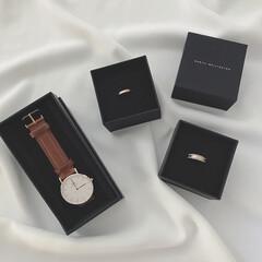 ダニエルウェリントン/指輪/腕時計/ファッション/わたしのお気に入り ずっと欲しかったダニエル・ウェリントンの…