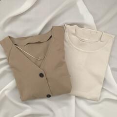 GU新作/GU/購入品/ファッション 今日の購入品。 どちらもGUの新作です♩…