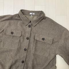 しまむら購入品/コーデュロイシャツ/プチプラのあや/しまむら/ファッション 話題のシャツ買ってきました♡ しまむら×…
