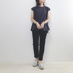 きれいめカジュアル/きれいめコーデ/UNIQLO/GU/ファッション/わたしのお盆 私のお盆コーデ。 あ、今日のBBQコーデ…