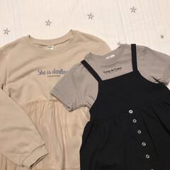 プチプラ/キッズコーデ/子供服/バースデイ/ファッション バースデイ購入品* 左のカットソーは長女…