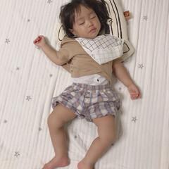 テータテート/天使の寝顔/1歳6ヶ月/娘/寝顔 今日は朝からお友達の家に遊びに行ってきま…
