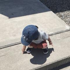 1歳4ヶ月/娘/GAP/ボーイッシュ/外遊び/令和元年フォト投稿キャンペーン 今日は珍しくボーイッシュなコーデ。 お兄…(1枚目)