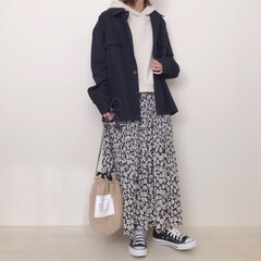 しまむら/花柄スカート/メンズアイテム/GU/ファッション GUメンズのヘビーツイルシャツアウターの…