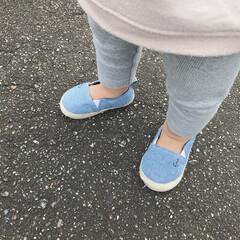 H&M/ベビーシューズ/エスパドリーユ/足元コーデ/ファッション/令和元年フォト投稿キャンペーン 末っ子ちゃんの新しい靴👟 裸足で履けるエ…