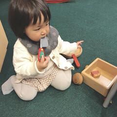 1歳3ヶ月/おままごと/GW/わたしのGW 公園ついでに室内の遊び場にも行ってきまし…