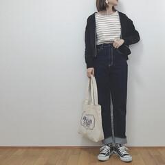 カジュアルコーデ/神デニム/GU/ファッション/平成最後の一枚 限定価格の時に買っておいたGUの神デニム…