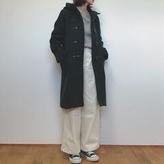 大人カジュアル/GU/コート/ファッション  GUで欲しかったコートが限定価格に✧︎…