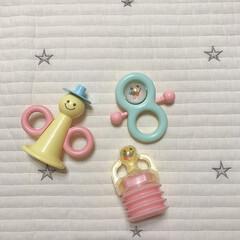 ベビー用品/おもちゃ/100均/ダイソー/雑貨 娘のおもちゃたち。 これぜーんぶDAIS…