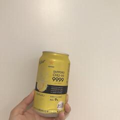 フォーナイン/晩酌/チューハイ/お酒 週末は晩酌タイム♡ 最近はアルコール9%…